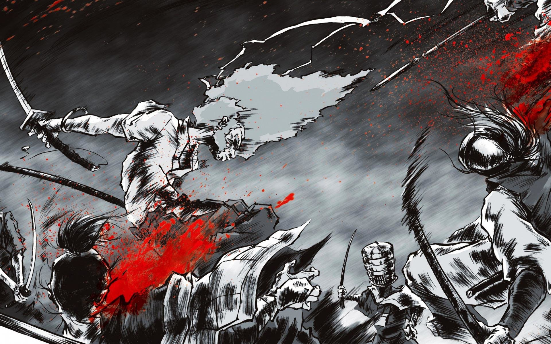 Free download Afro Samurai background ID:329137 hd 1920x1200 for PC