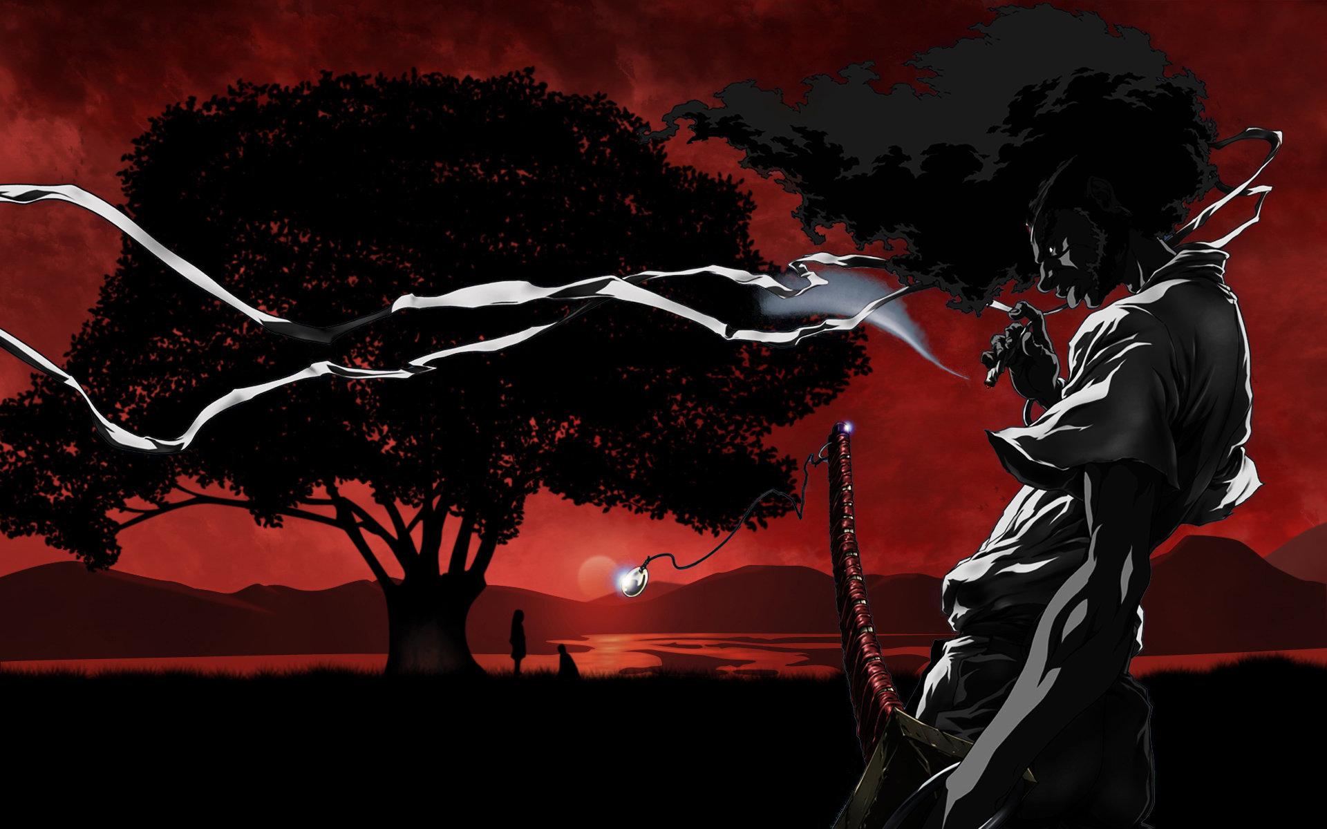 Download hd 1920x1200 Afro Samurai PC wallpaper ID:329118 for free
