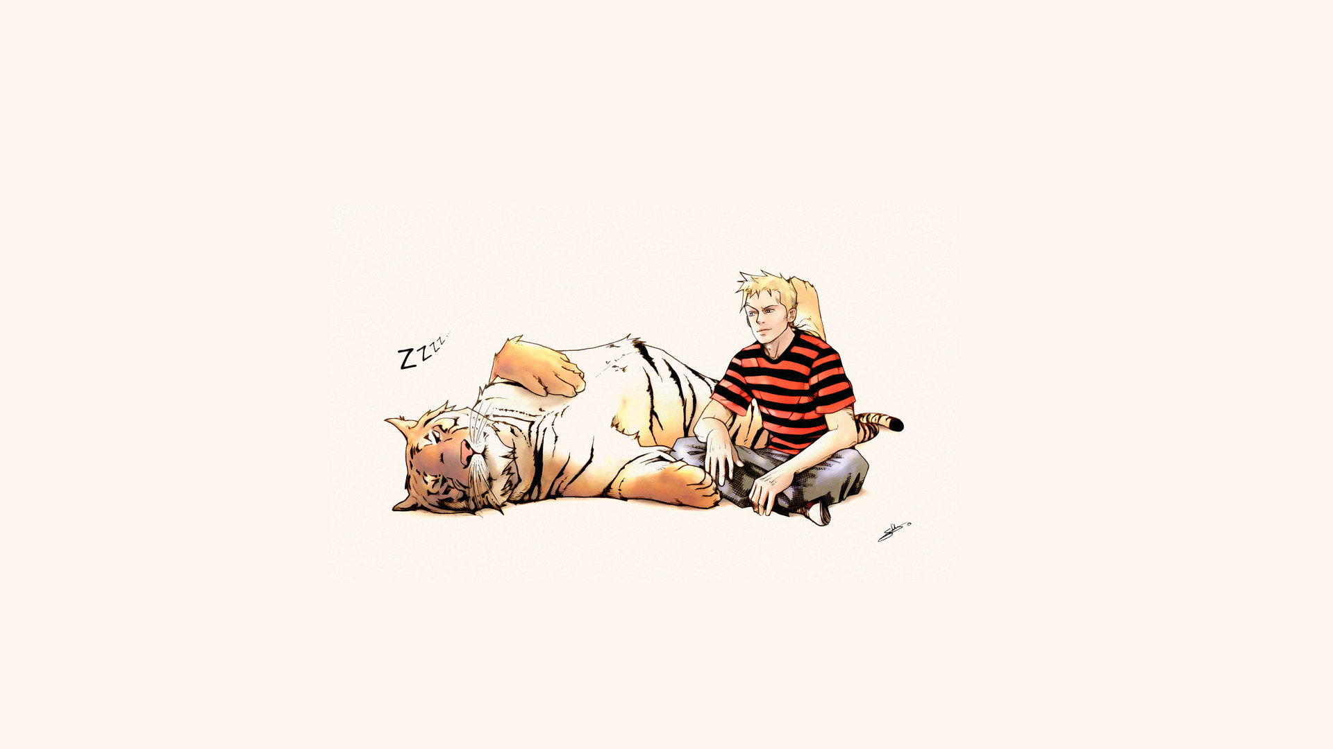 Download full hd 1920x1080 Calvin and Hobbes computer background ID:211430 for free