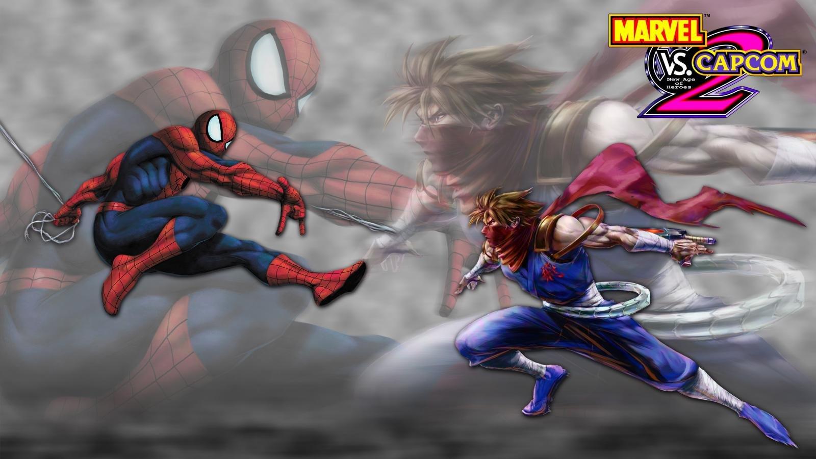 Marvel Vs Capcom 2 Wallpapers Hd For Desktop Backgrounds