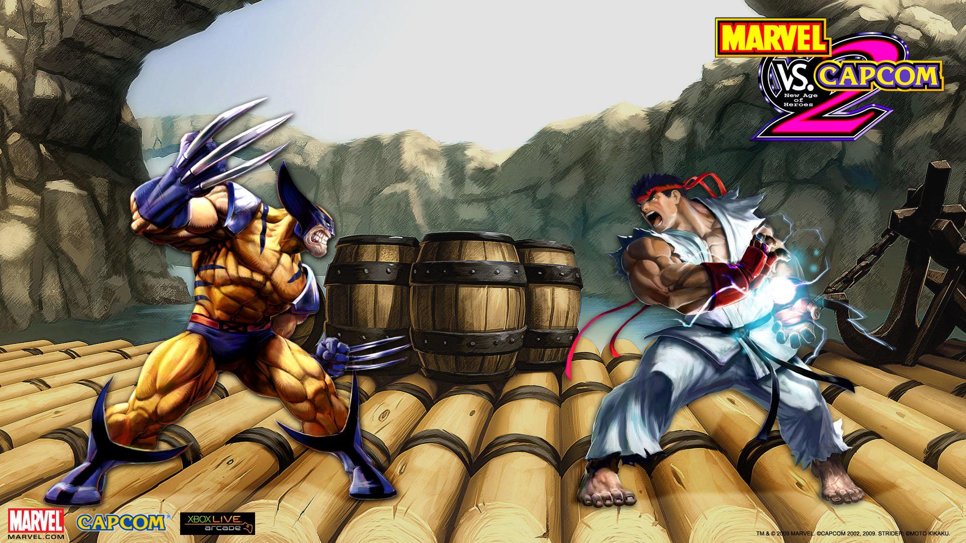 Marvel Vs Capcom 2 Wallpapers 1920x1080 Full Hd 1080p Desktop