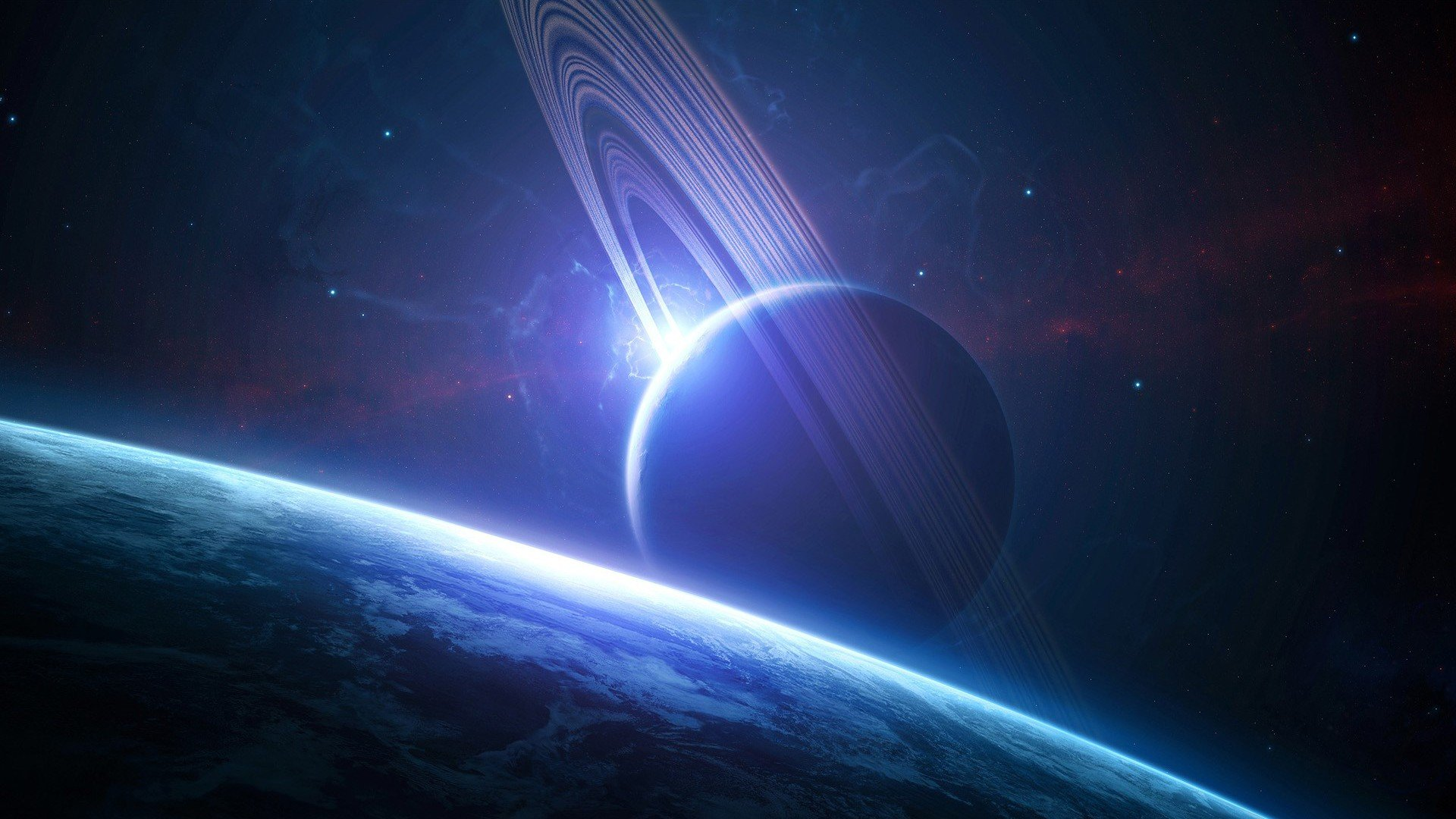 Download 1080p Planetary Ring desktop background ID:256566 for free