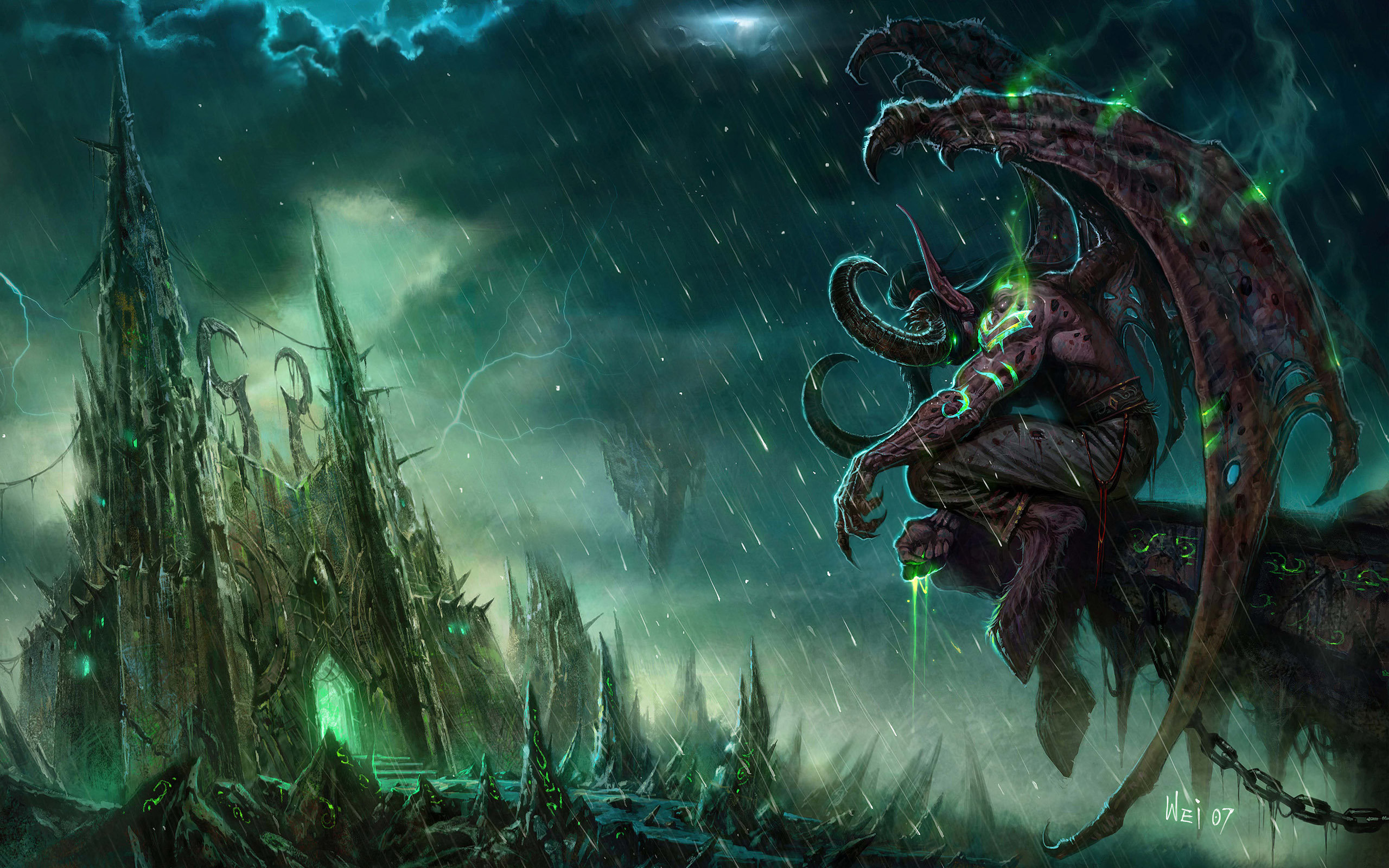 Free Illidan Stormrage high quality background ID:244905 for hd 2560x1600 computer