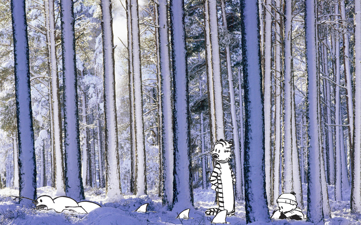 Awesome Calvin And Hobbes Free Wallpaper Id211520 For Hd