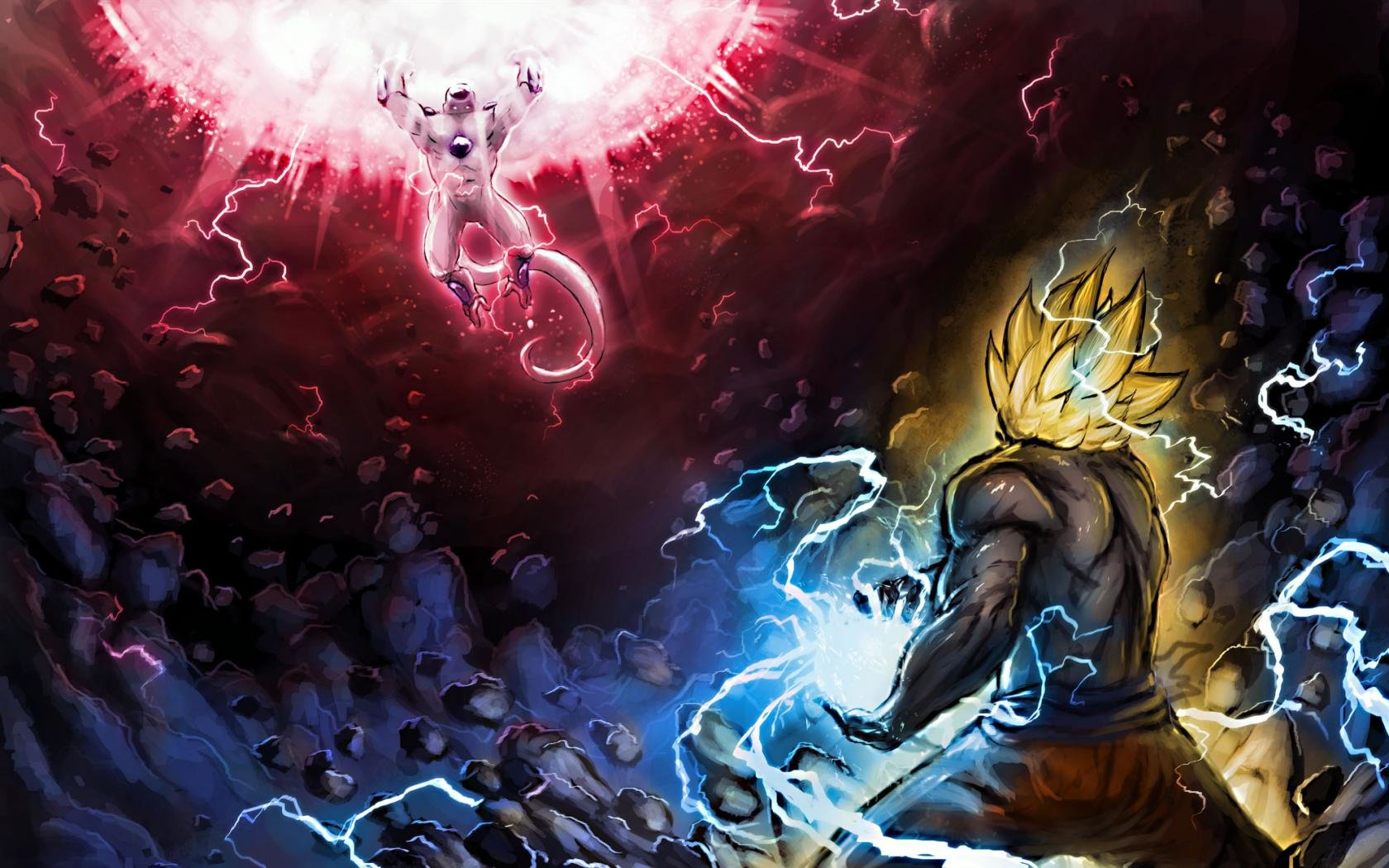 Free download Dragon Ball Z (DBZ) background ID:462310 hd 1680x1050 for desktop