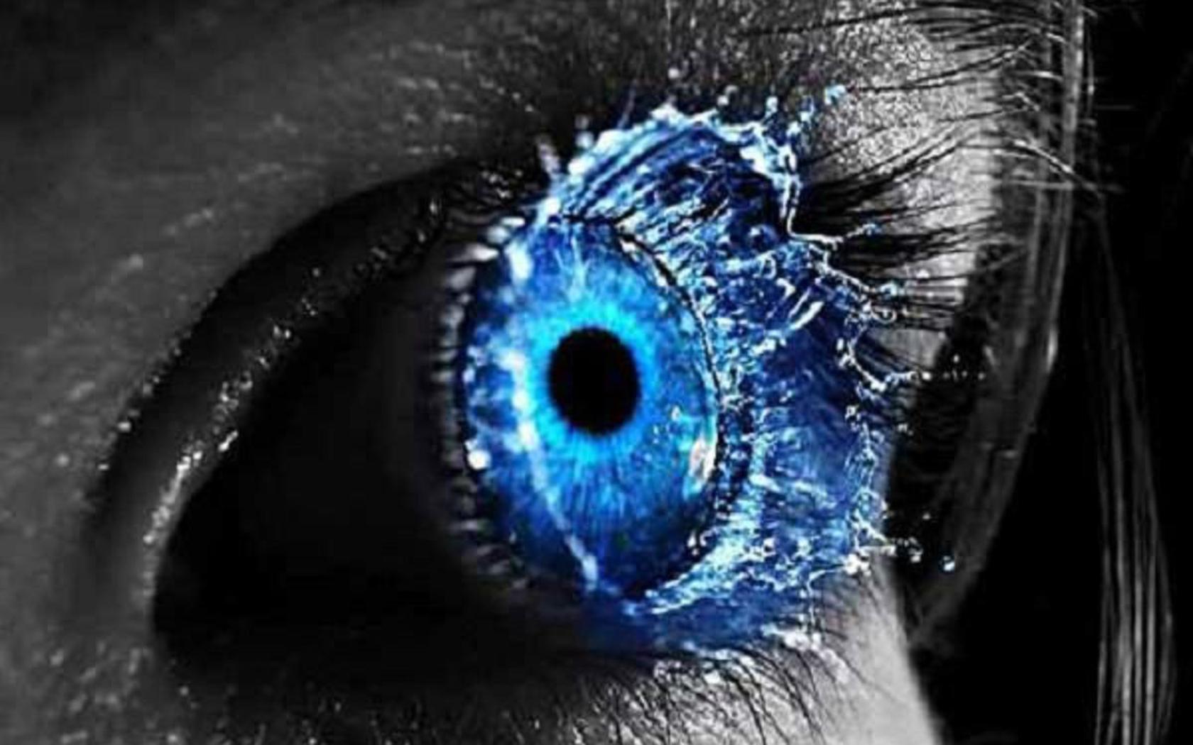 Best Evil Eye Wallpaper Id 496724 For High Resolution Hd 1680x1050