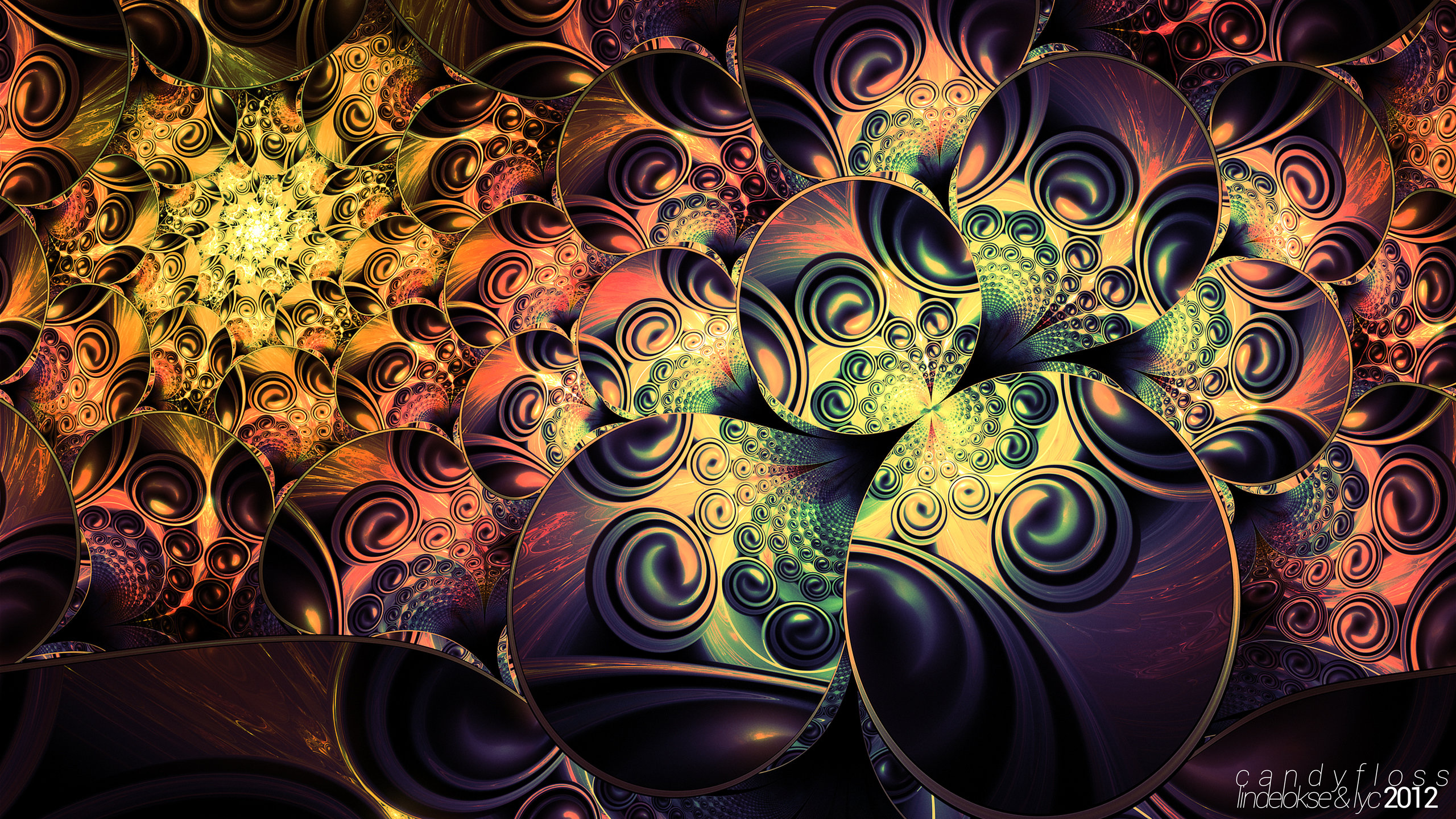 Awesome Fractal free background ID:93846 for hd 2560x1440 computer