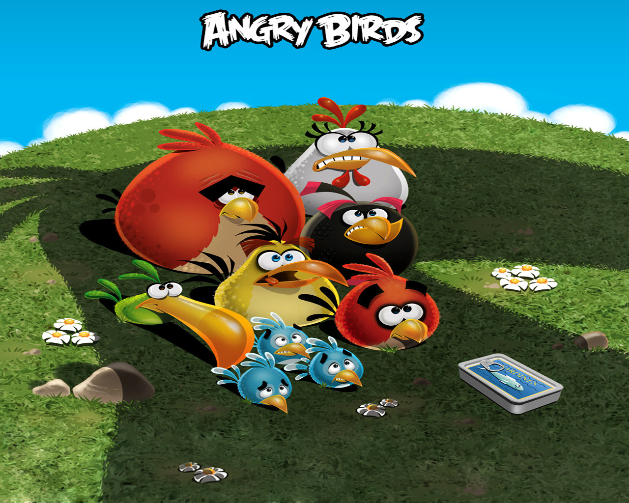 awesome angry birds free wallpaper id:256643 for hd 1280x1024 pc