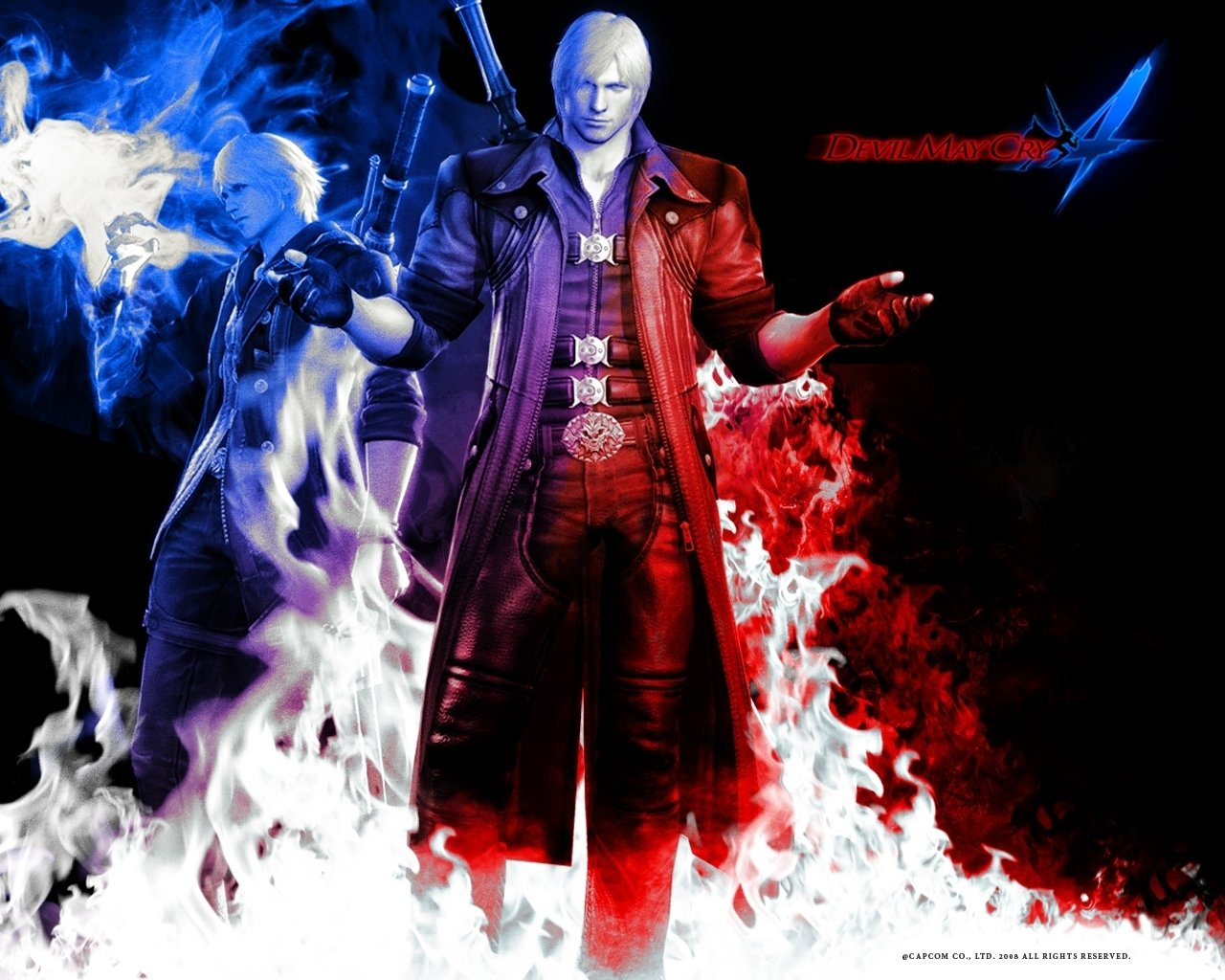 Devil May Cry 4 Wallpapers Hd For Desktop Backgrounds