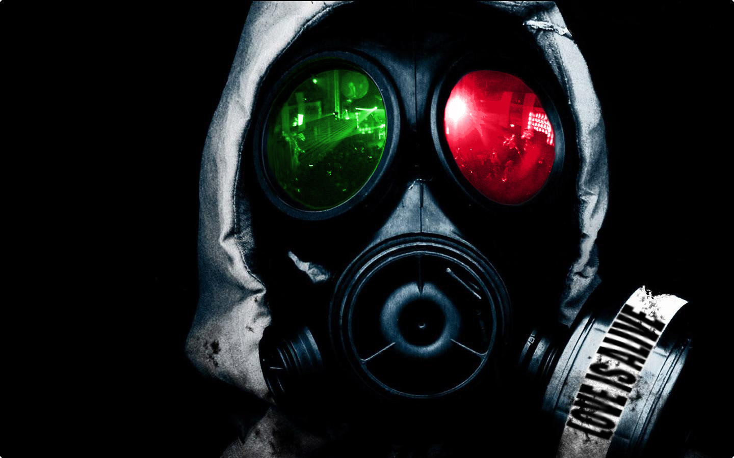 High Resolution Gas Mask Hd 1440x900 Wallpaper Id 161489 For Pc