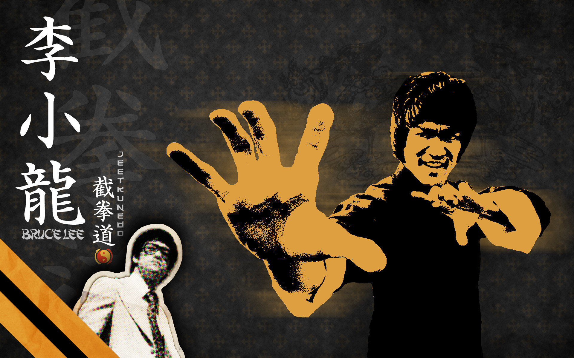 Download hd 1920x1200 Bruce Lee computer wallpaper ID:194258 for free