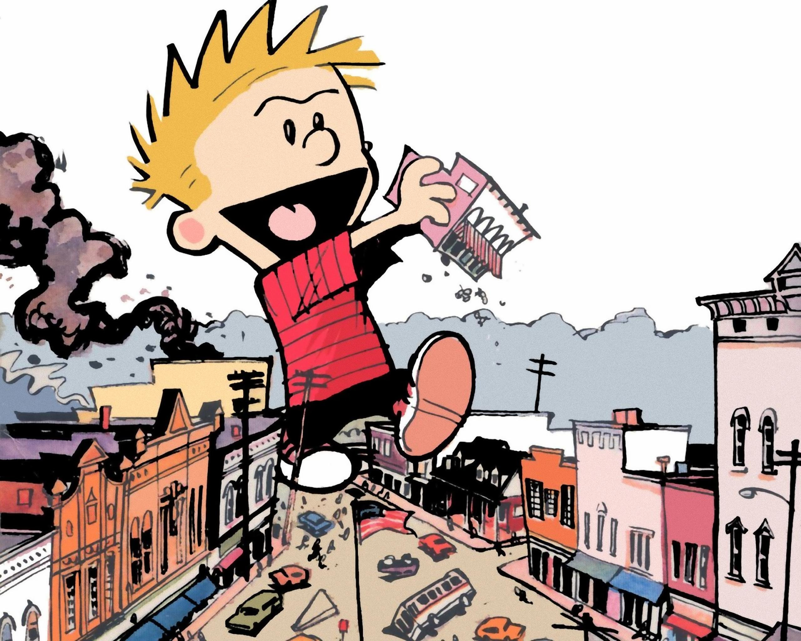 Free Calvin and Hobbes high quality background ID:211424 for hd 2560x2048 computer