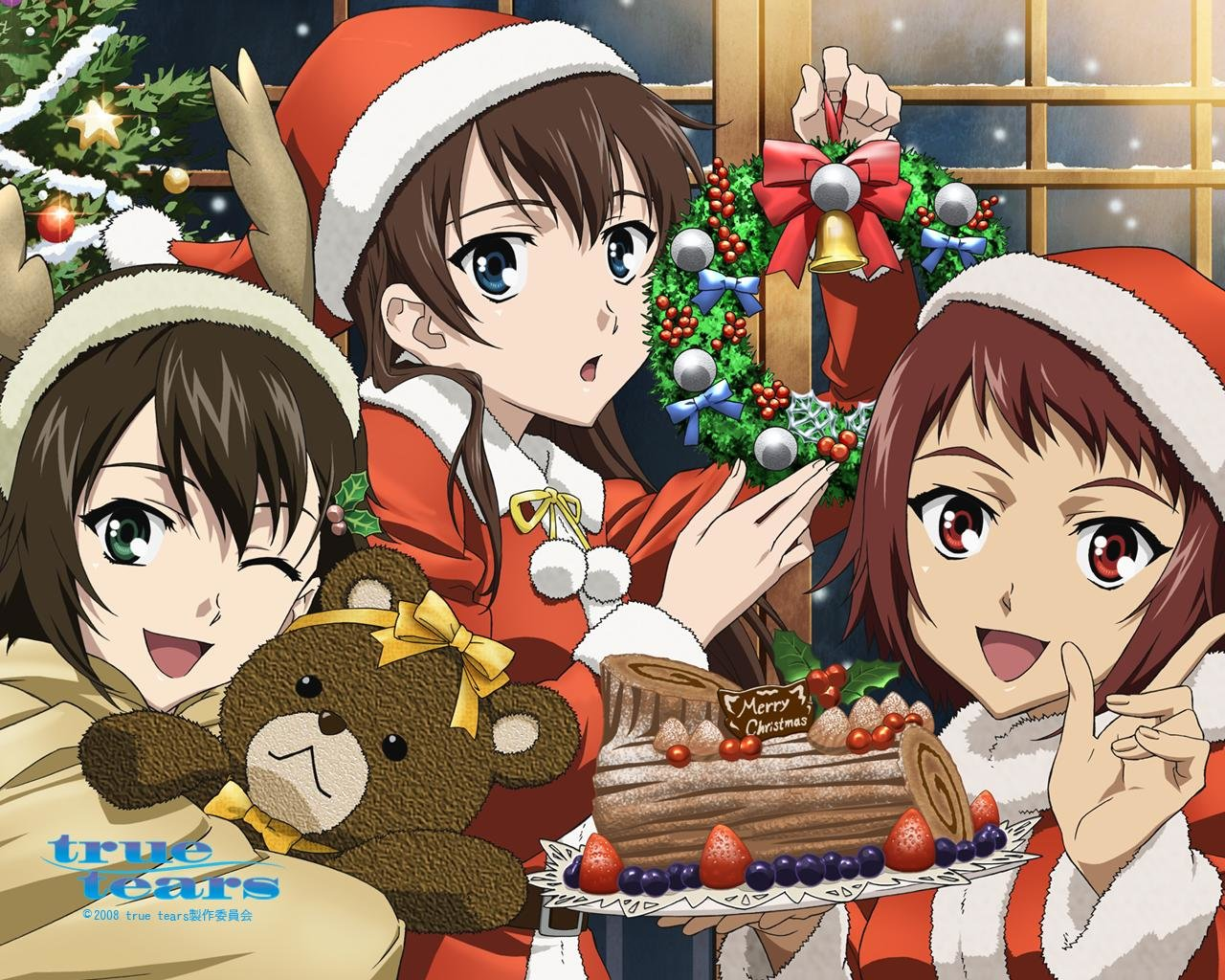 Free Christmas Anime high quality wallpaper ID:24892 for hd 1280x1024 PC