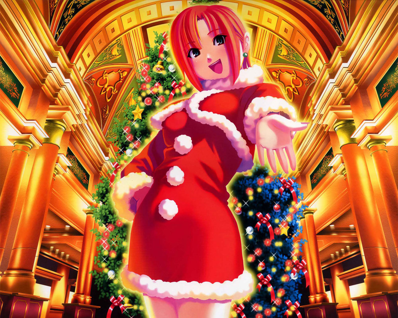 Awesome Christmas Anime free wallpaper ID:24897 for hd 1280x1024 computer