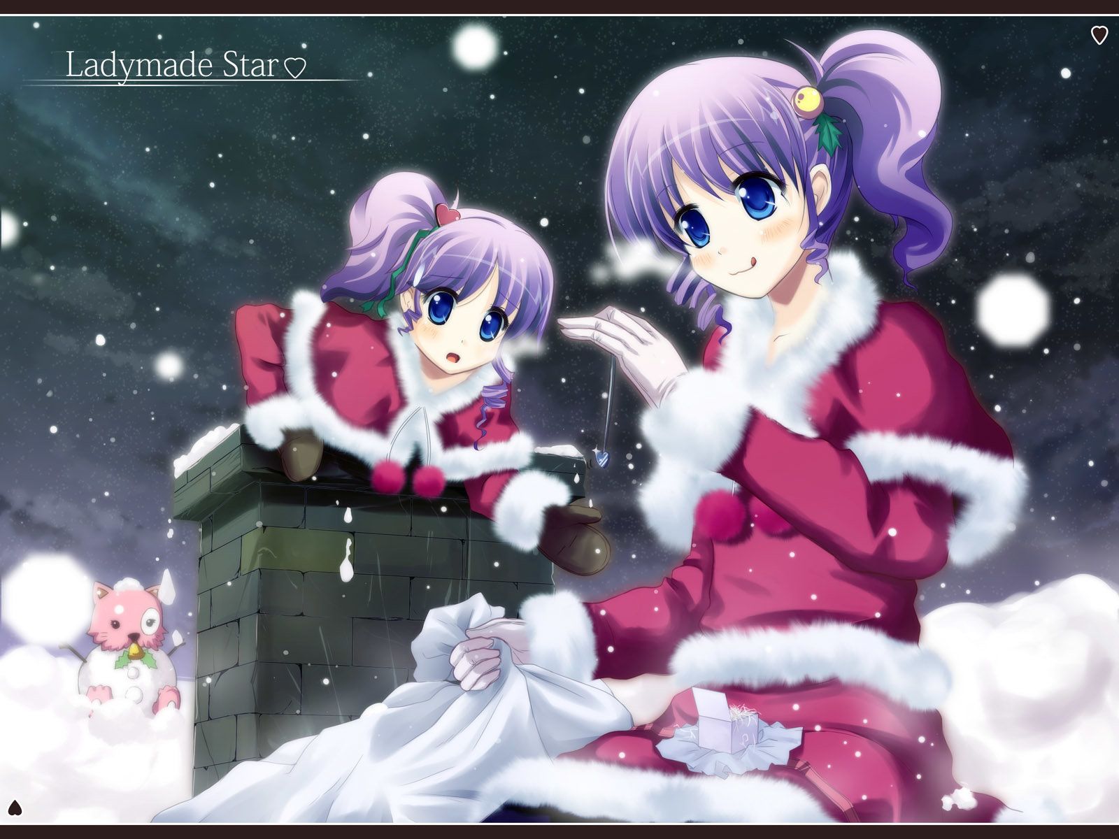 Download hd 1600x1200 Christmas Anime computer wallpaper ID:24870 for free