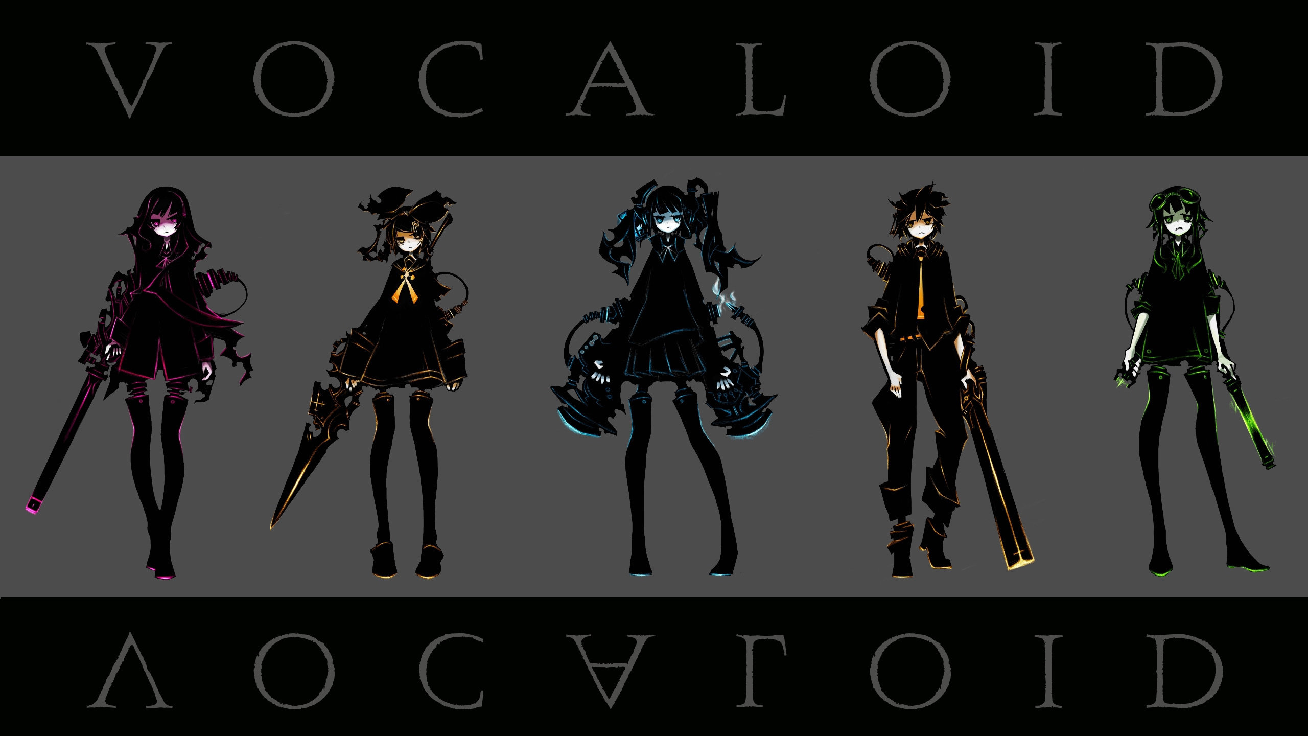 Free download Vocaloid wallpaper ID:1069 hd 2560x1440 for desktop