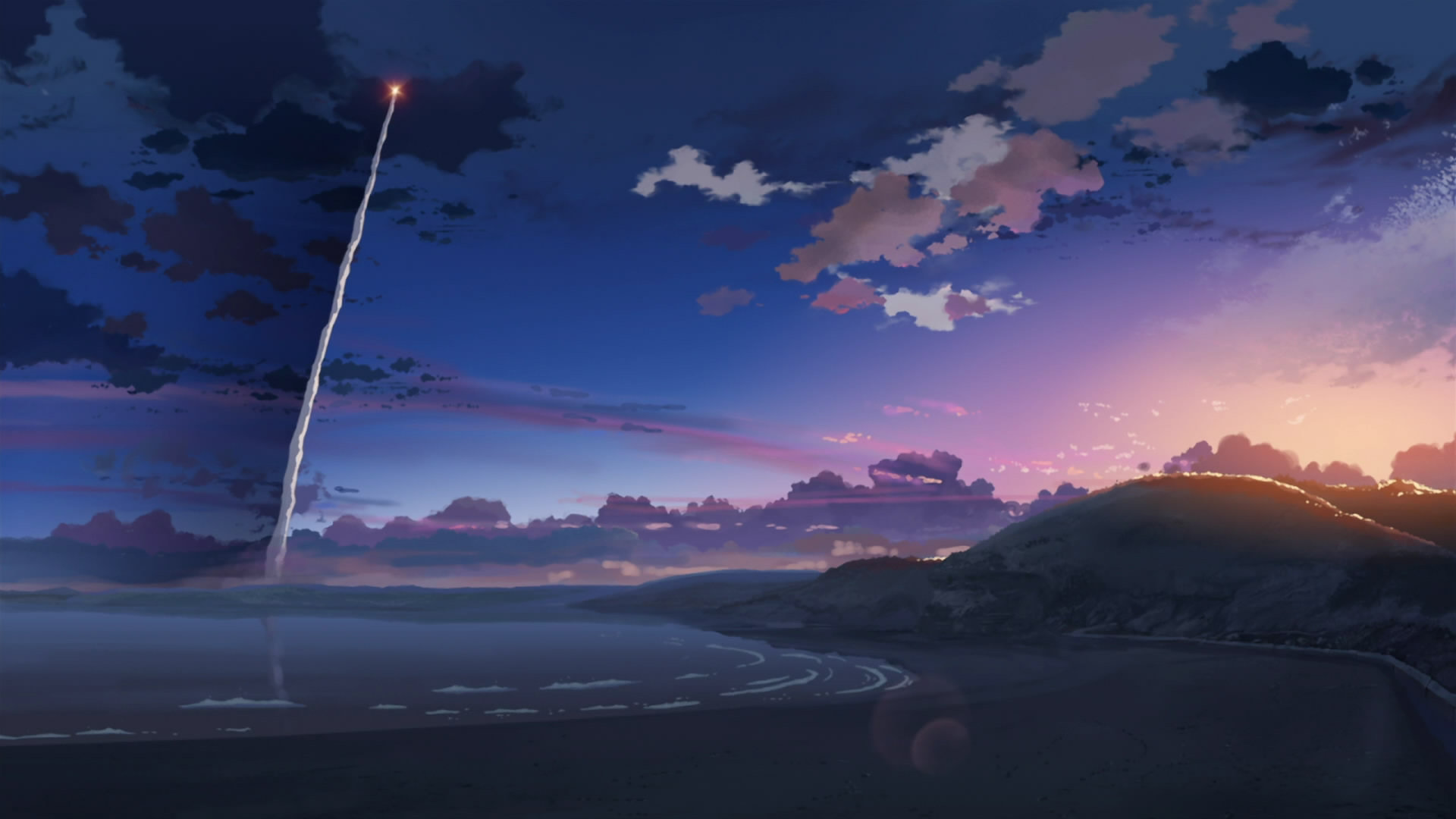 Download full hd 1920x1080 5 (cm) Centimeters Per Second computer wallpaper ID:90087 for free
