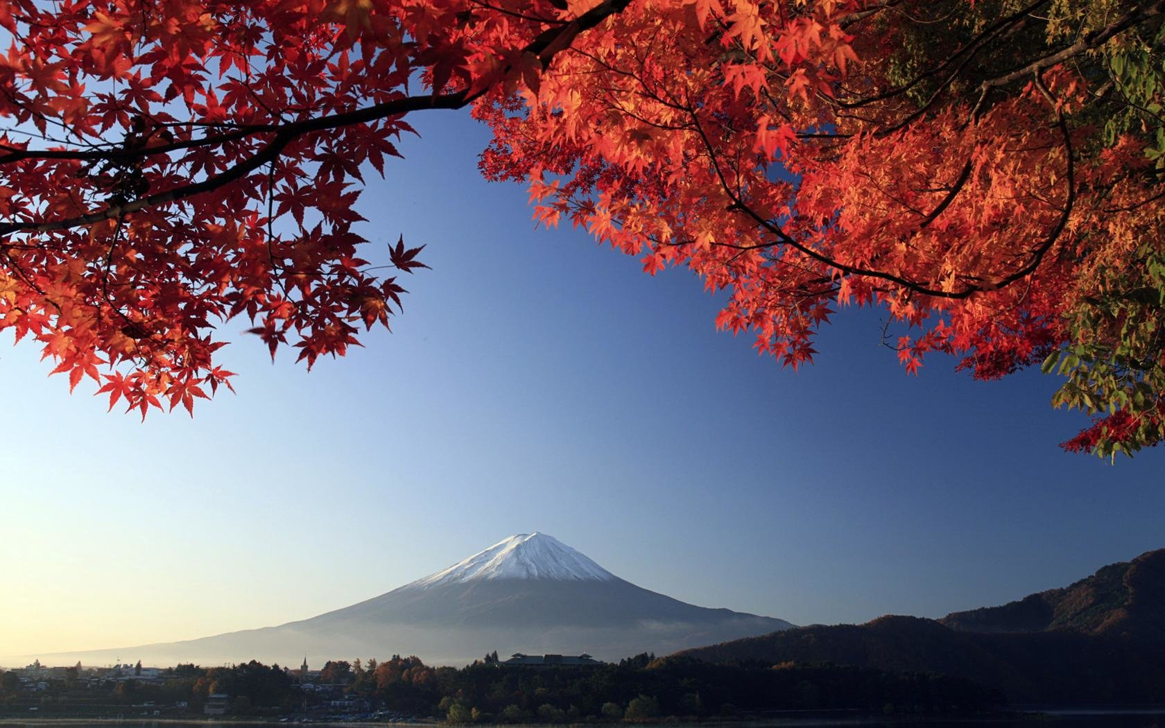 Download hd 1680x1050 Mount Fuji desktop background ID:277724 for free