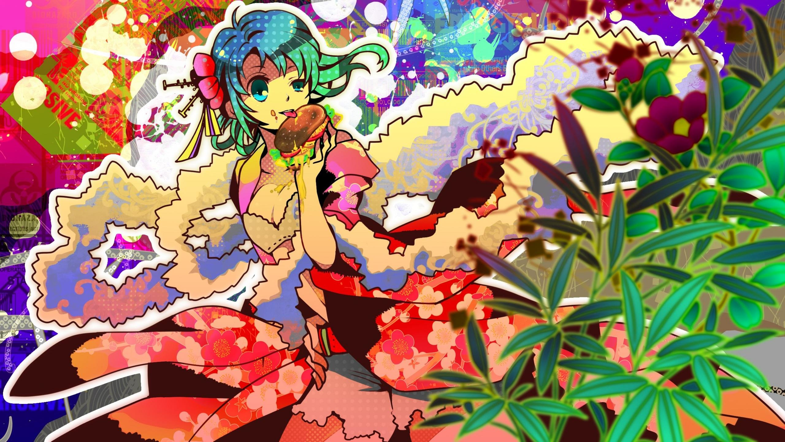 High resolution Vocaloid hd 2560x1440 background ID:1819 for desktop