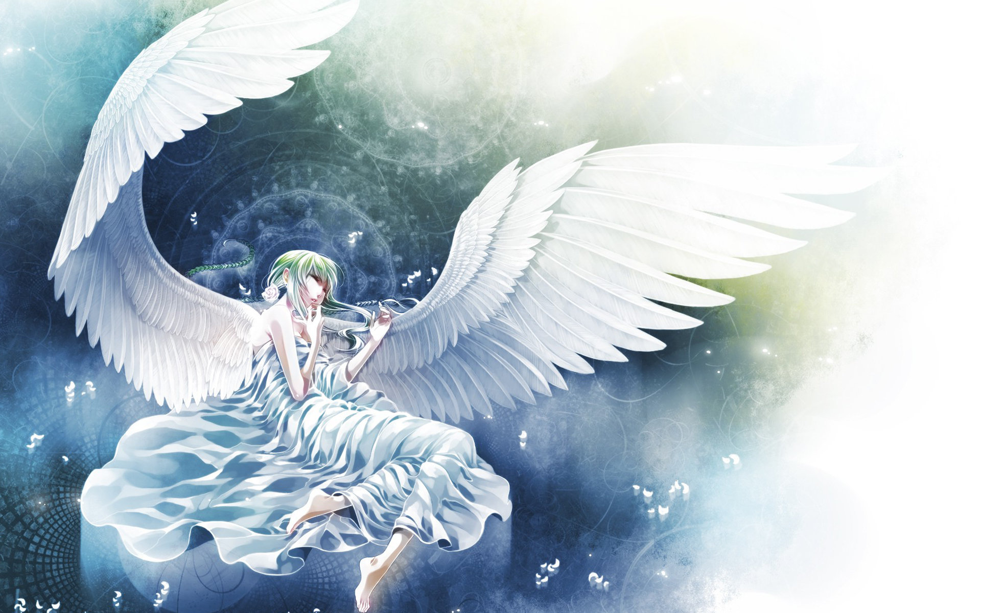 Free download Angel Anime wallpaper ID:61902 hd 1920x1200 for computer