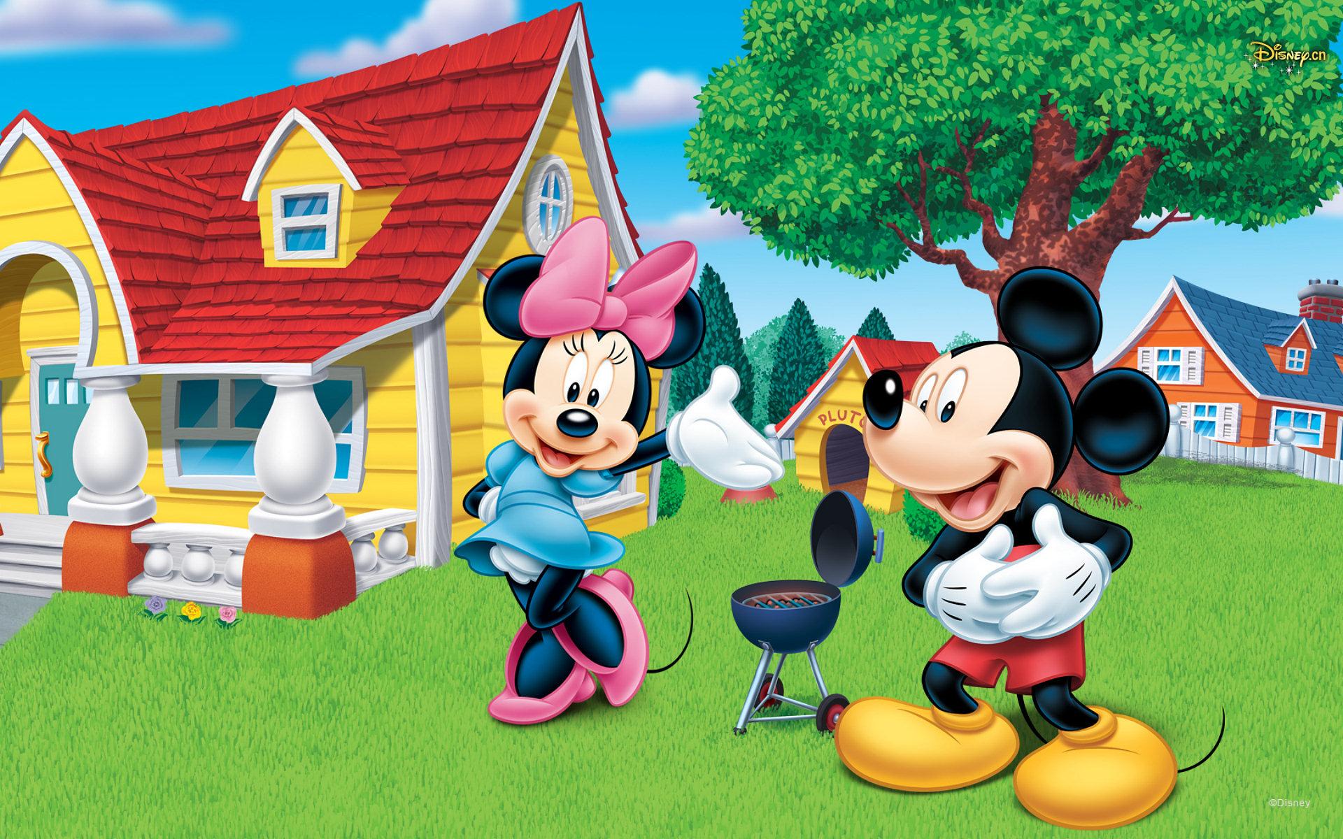 Free Download Mickey And Minnie Wallpaper Id325002 Hd