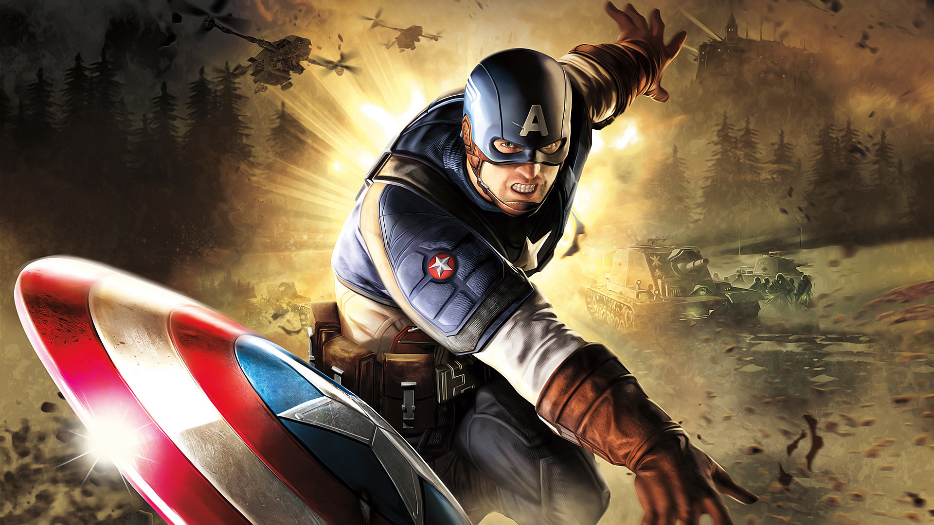 Best Captain America Marvel Comics Wallpaper Id 292725 For High