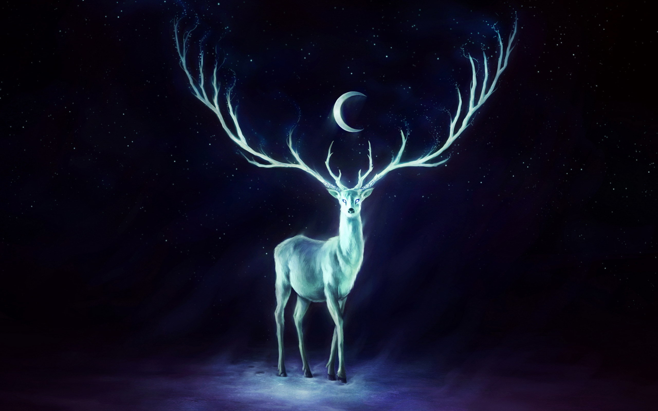 Awesome Deer Fantasy free wallpaper ID:96877 for hd 2560x1600 PC