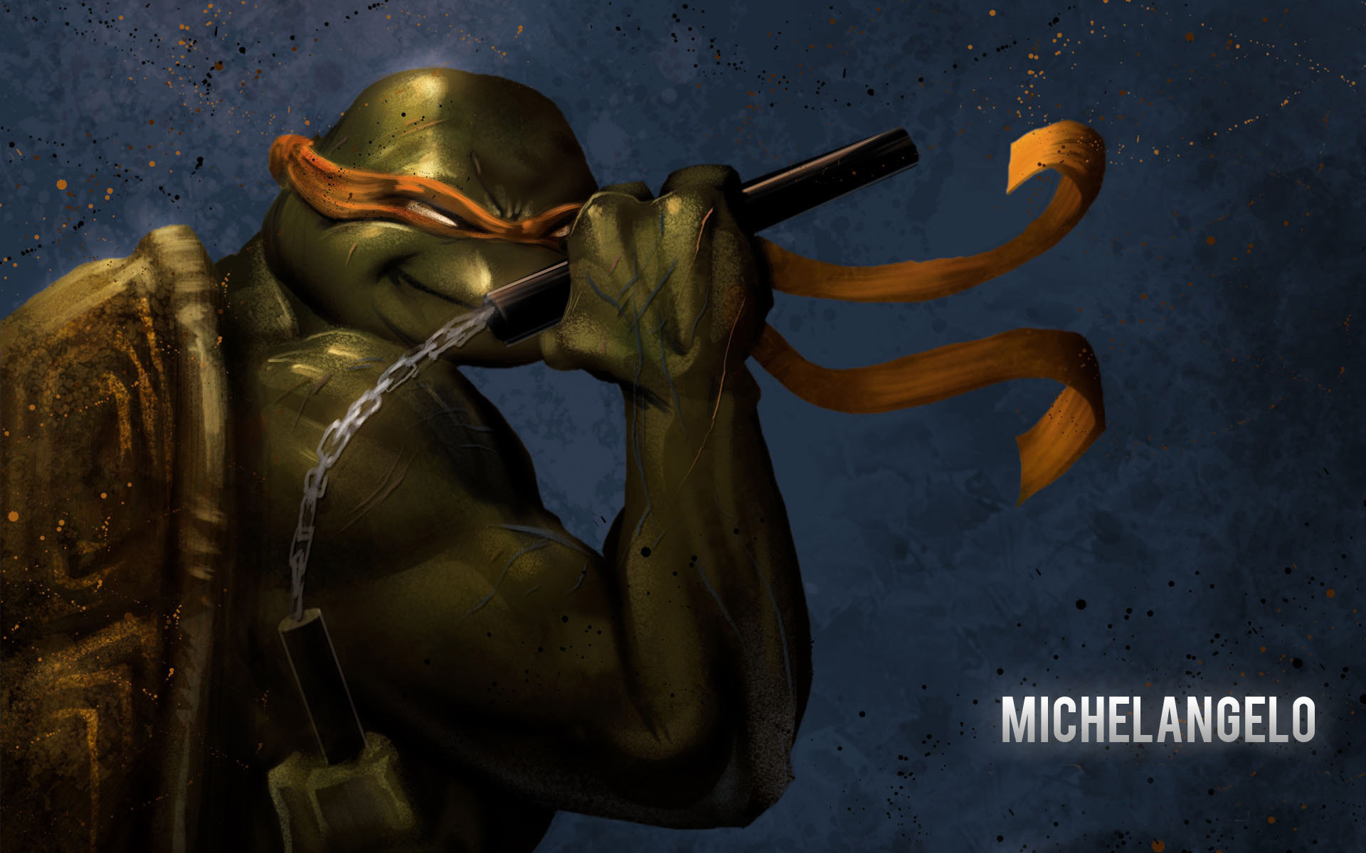 Awesome Michelangelo TMNT Free Wallpaper ID111327 For Hd 1920x1200 Desktop