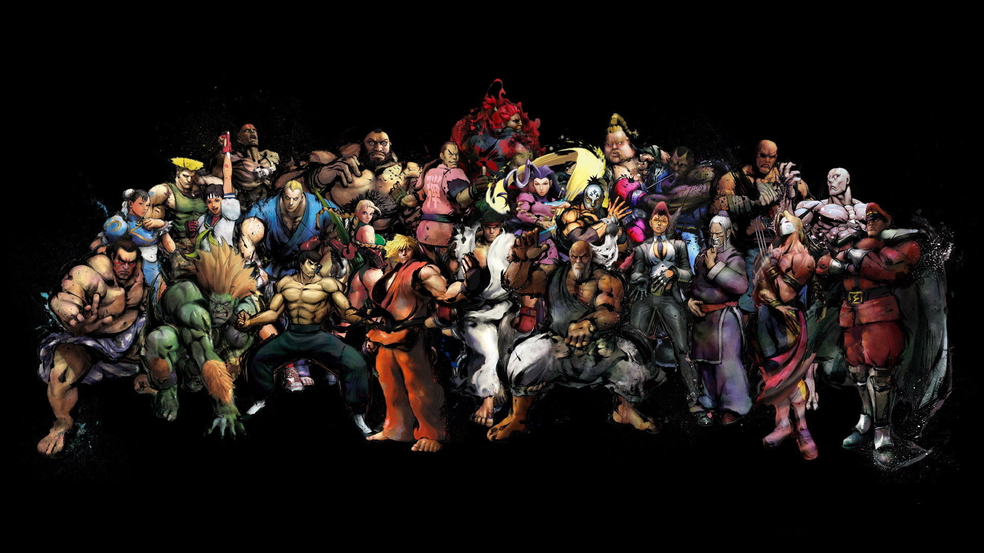 Street Fighter Wallpapers 1920x1080 Full Hd 1080p Desktop