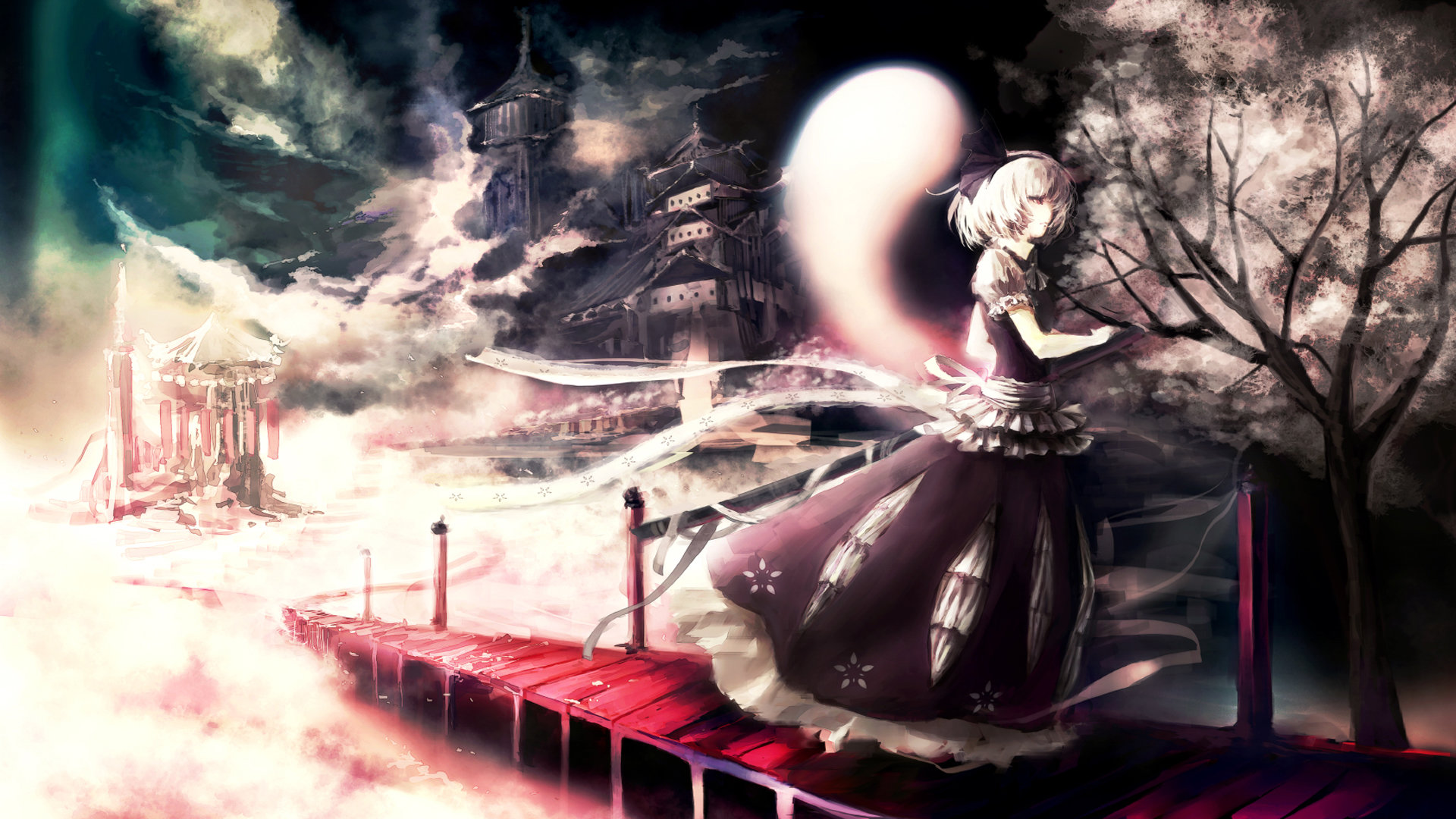Download full hd 1920x1080 Youmu Konpaku computer background ID:225499 for free