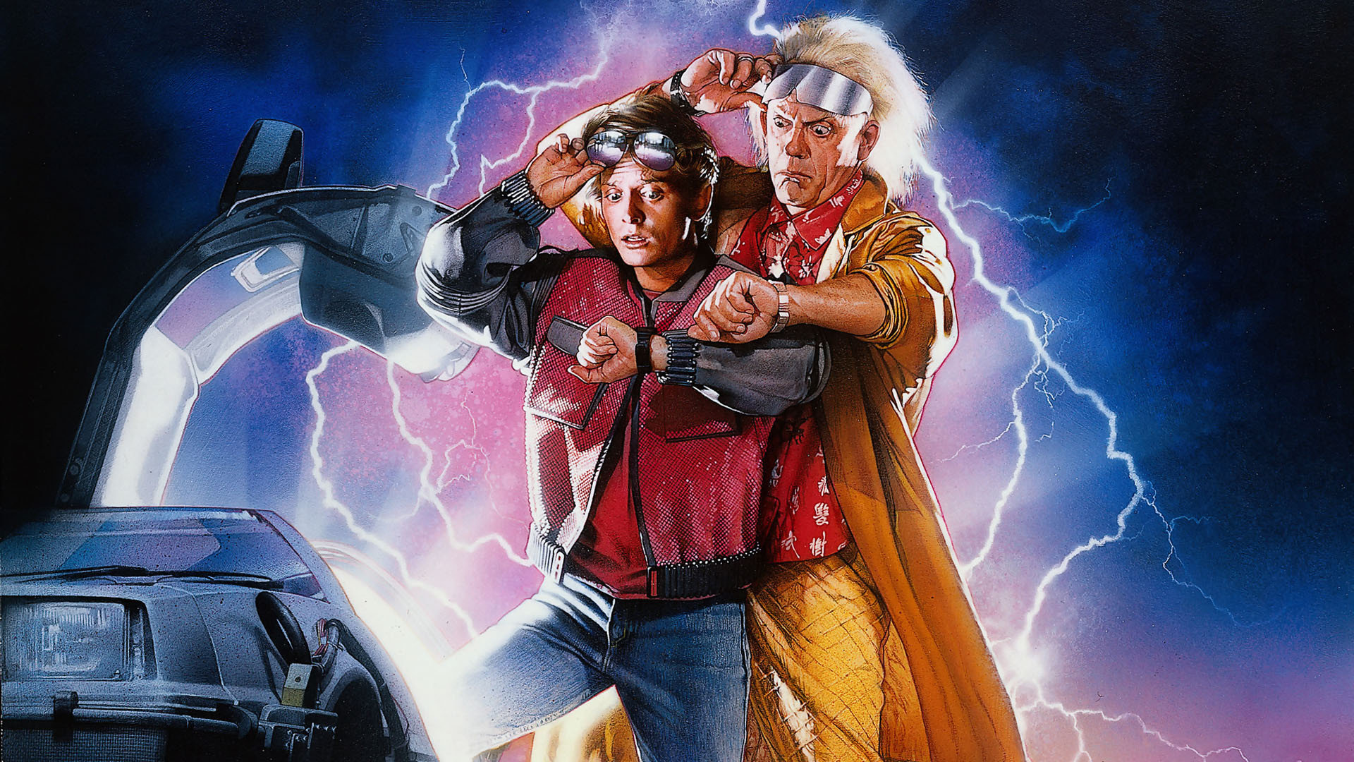 Back To The Future Wallpapers 1920x1080 Full Hd 1080p