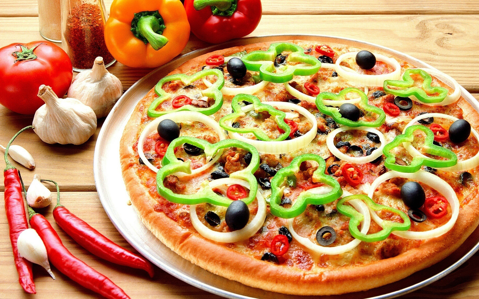 Best Pizza background ID:390223 for High Resolution hd 1920x1200 PC