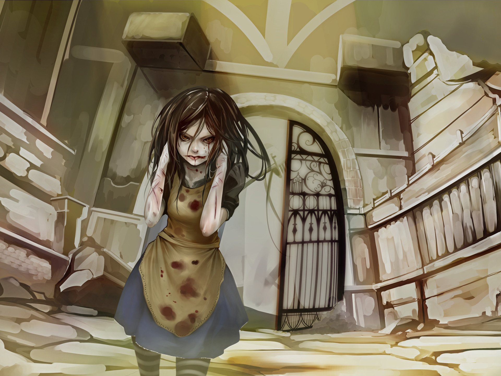 High resolution Alice: Madness Returns hd 1920x1440 wallpaper ID:27627 for computer