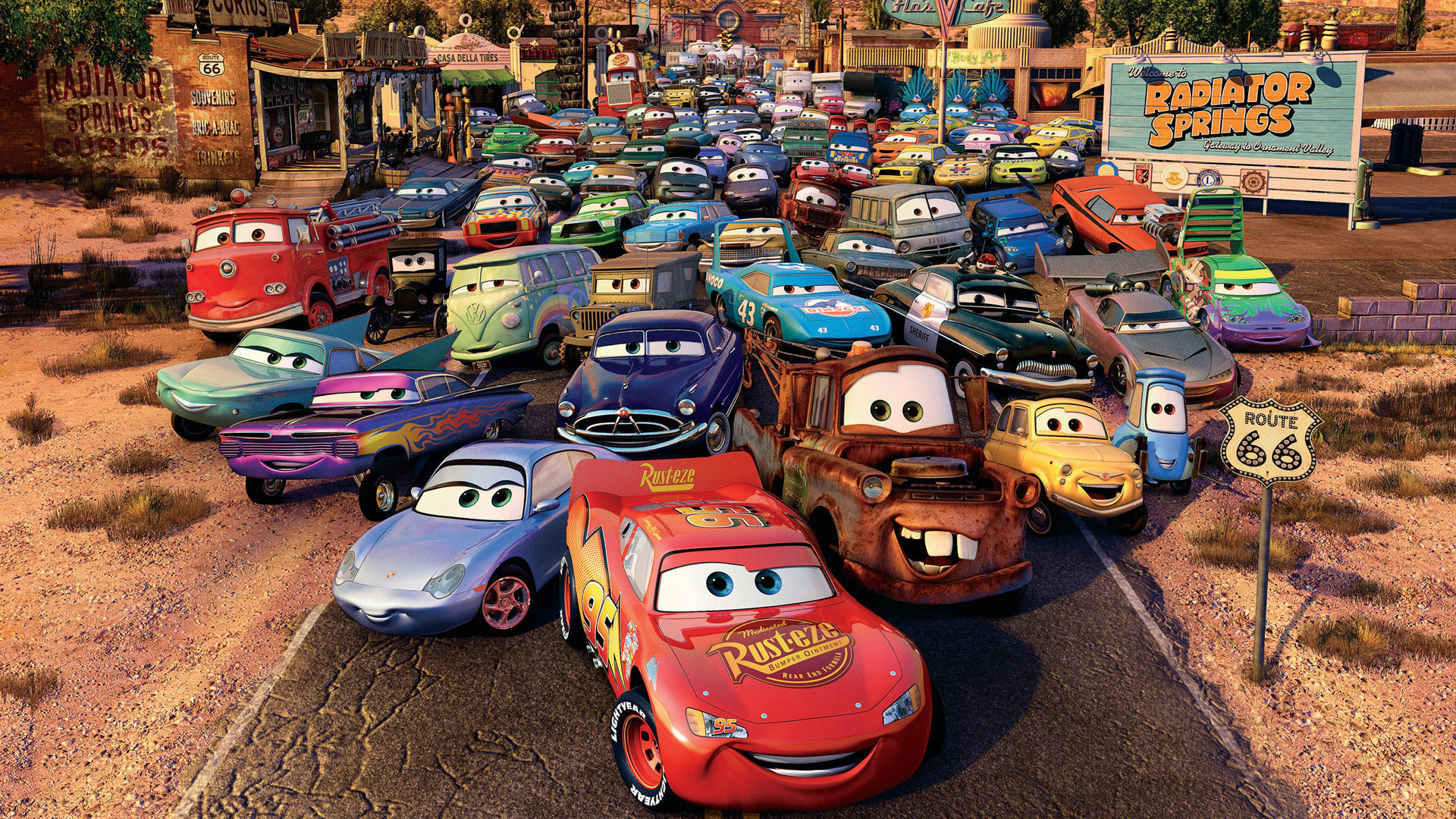Cars Movie Wallpapers 1920x1080 Full Hd 1080p Desktop Backgrounds