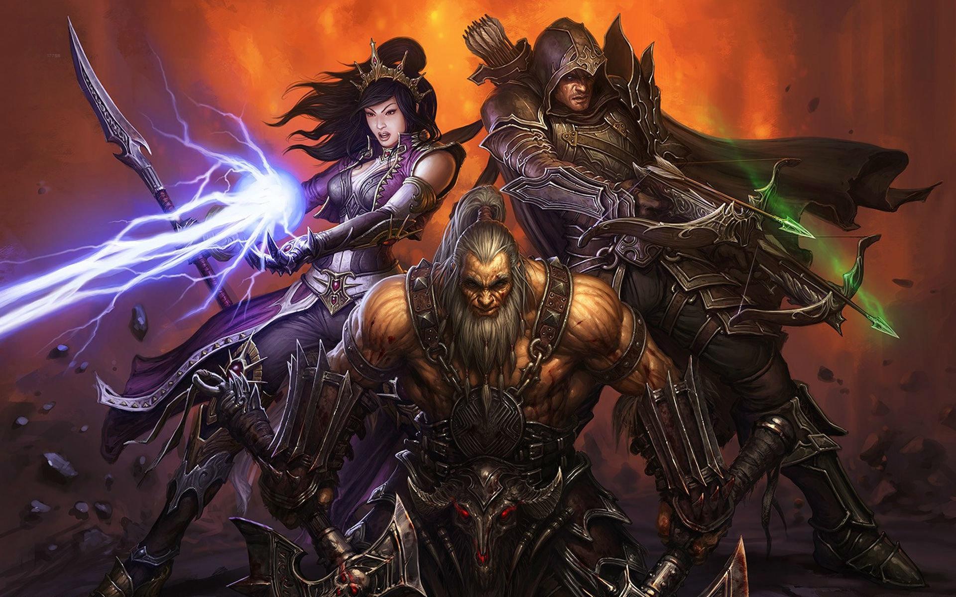 Wizard Diablo 3 Wallpapers Hd For Desktop Backgrounds