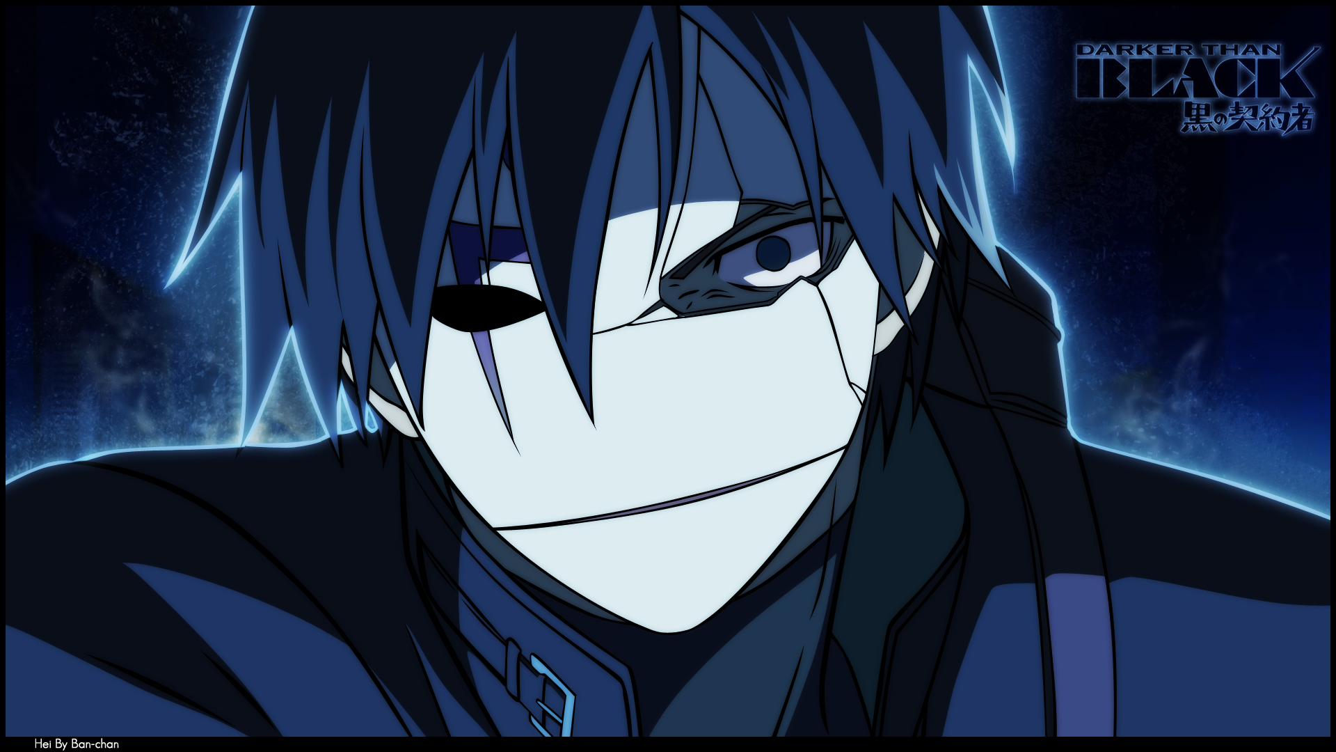 Free Download Hei Darker Than Black Wallpaper ID110185 1080p For Computer 1920x1080