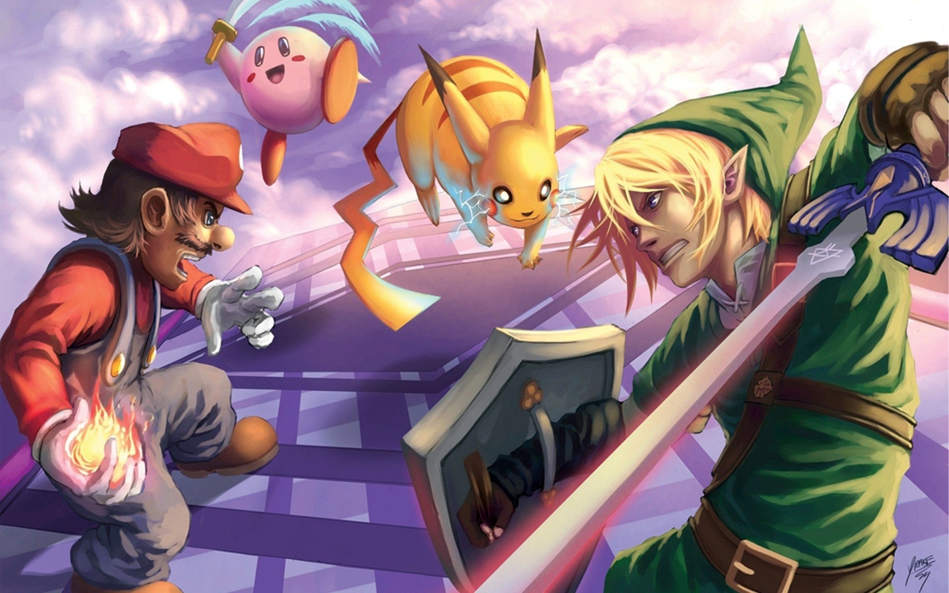 Super Smash Bros Wallpapers 1920x1200 Desktop Backgrounds