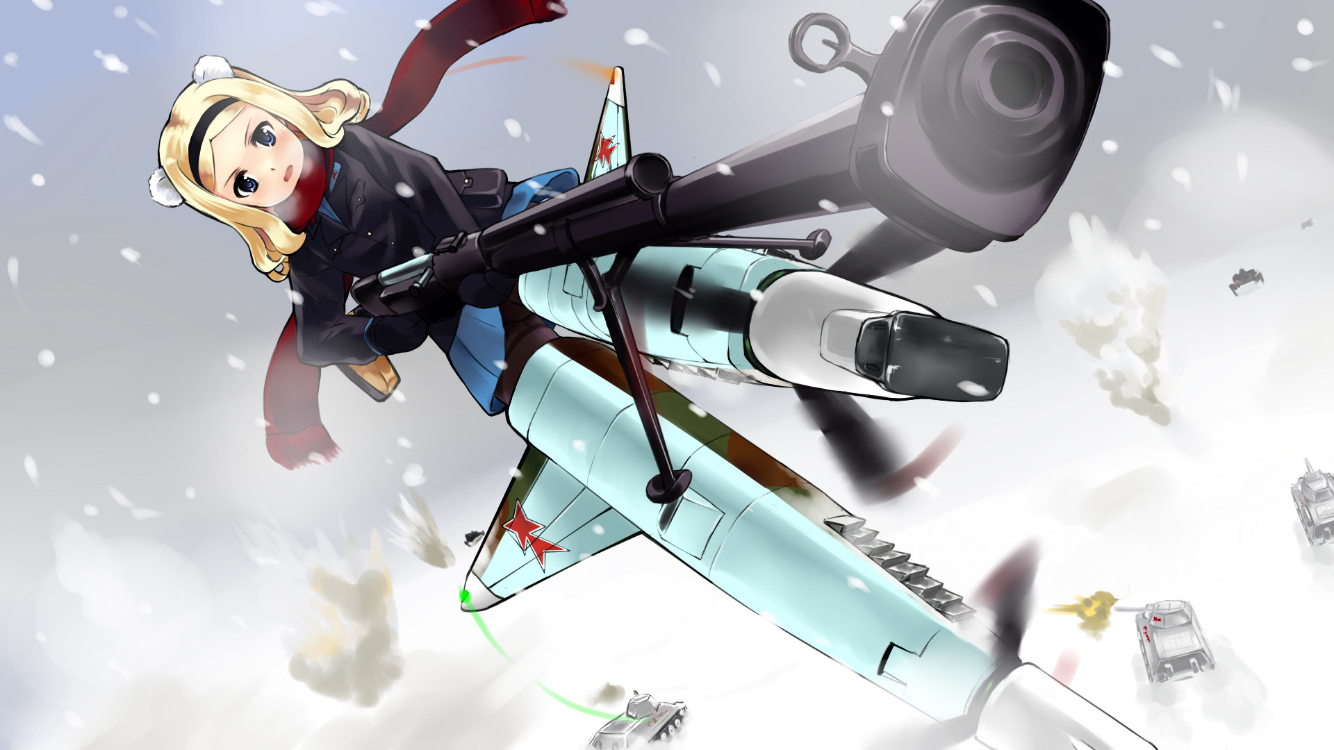 High resolution Strike Witches hd 1920x1080 background ID:305636 for PC