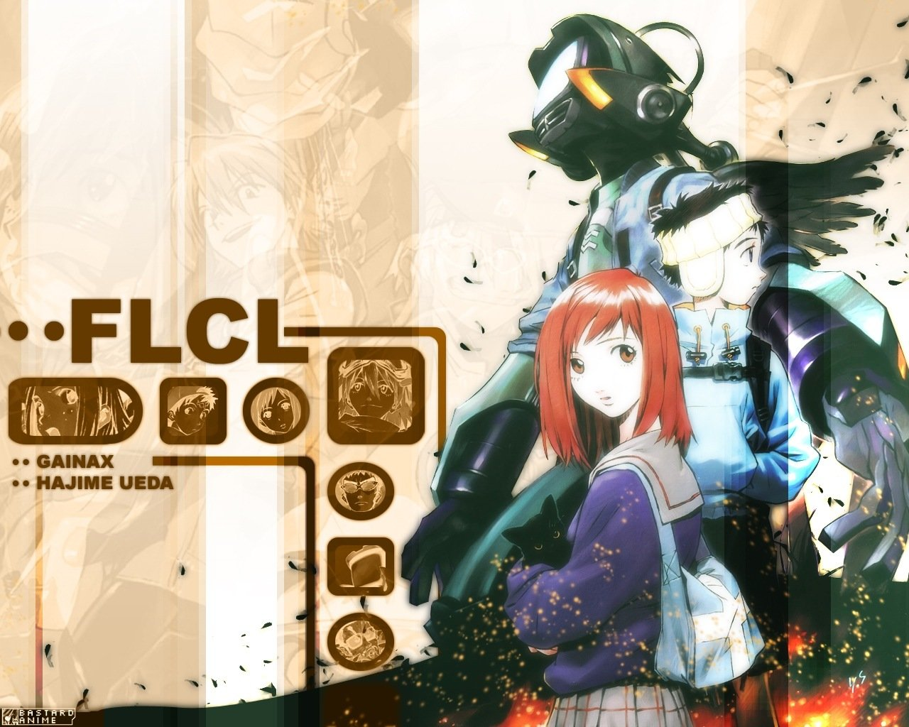 Best FLCL background ID:339490 for High Resolution hd 1280x1024 desktop