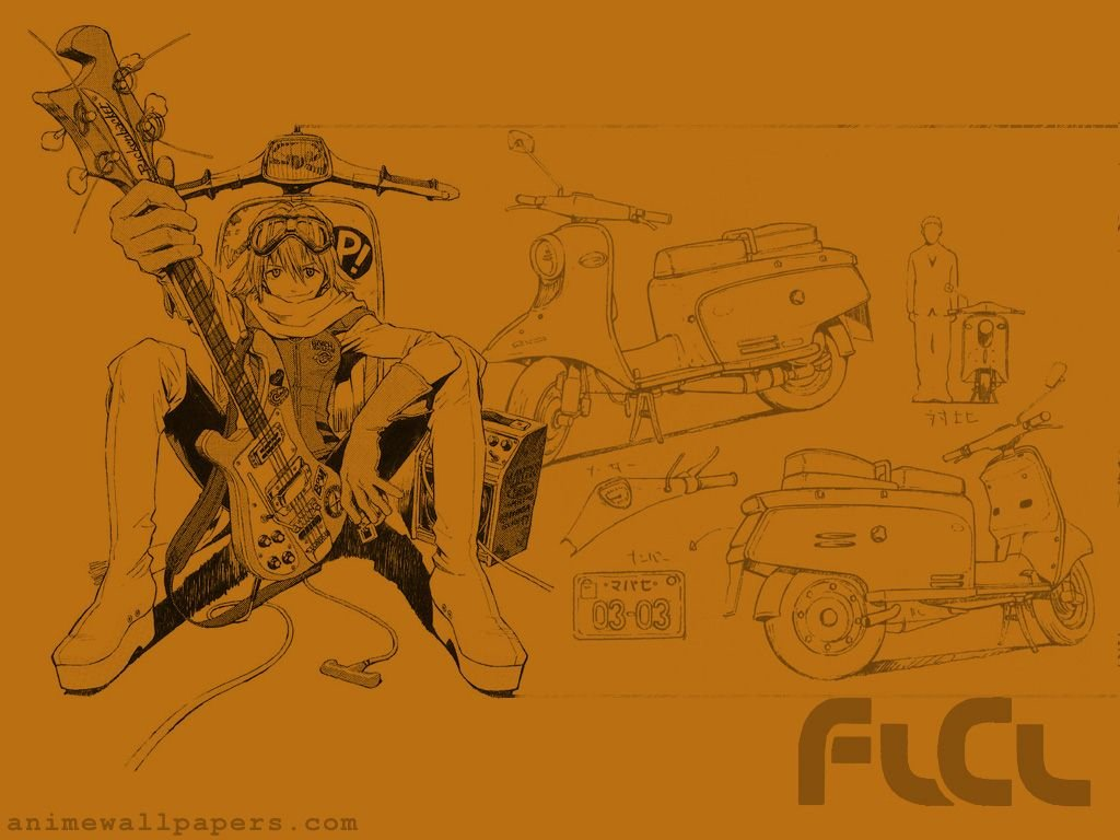 Best FLCL wallpaper ID:339507 for High Resolution hd 1024x768 desktop