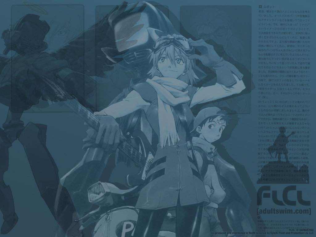 High resolution FLCL hd 1024x768 wallpaper ID:339566 for PC