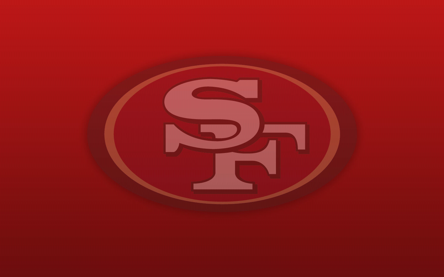 High resolution San Francisco 49ers hd 1440x900 wallpaper ID:174773 for computer