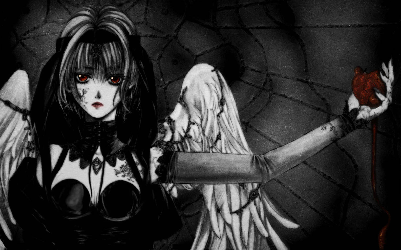 High resolution Angel Sanctuary hd 1680x1050 wallpaper ID:26557 for PC