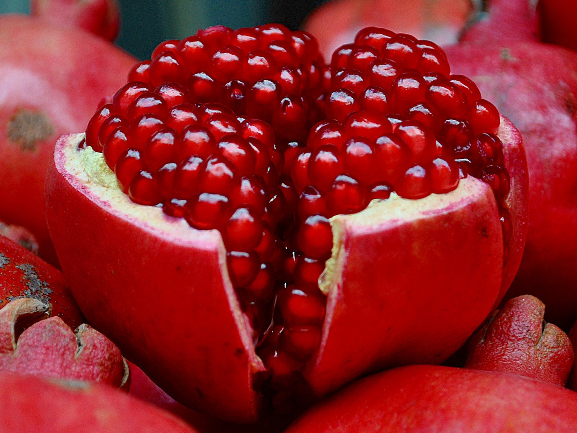 Download hd 1920x1440 Pomegranate desktop wallpaper ID:210423 for free