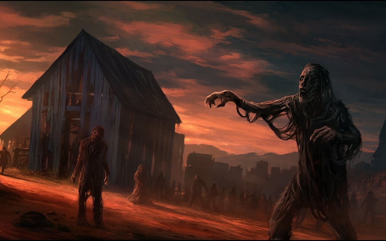 Download hd 1280x800 Zombie desktop background ID:241144 for free