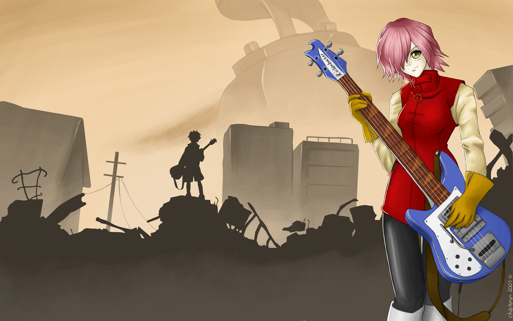 Free FLCL high quality wallpaper ID:339516 for hd 1680x1050 desktop