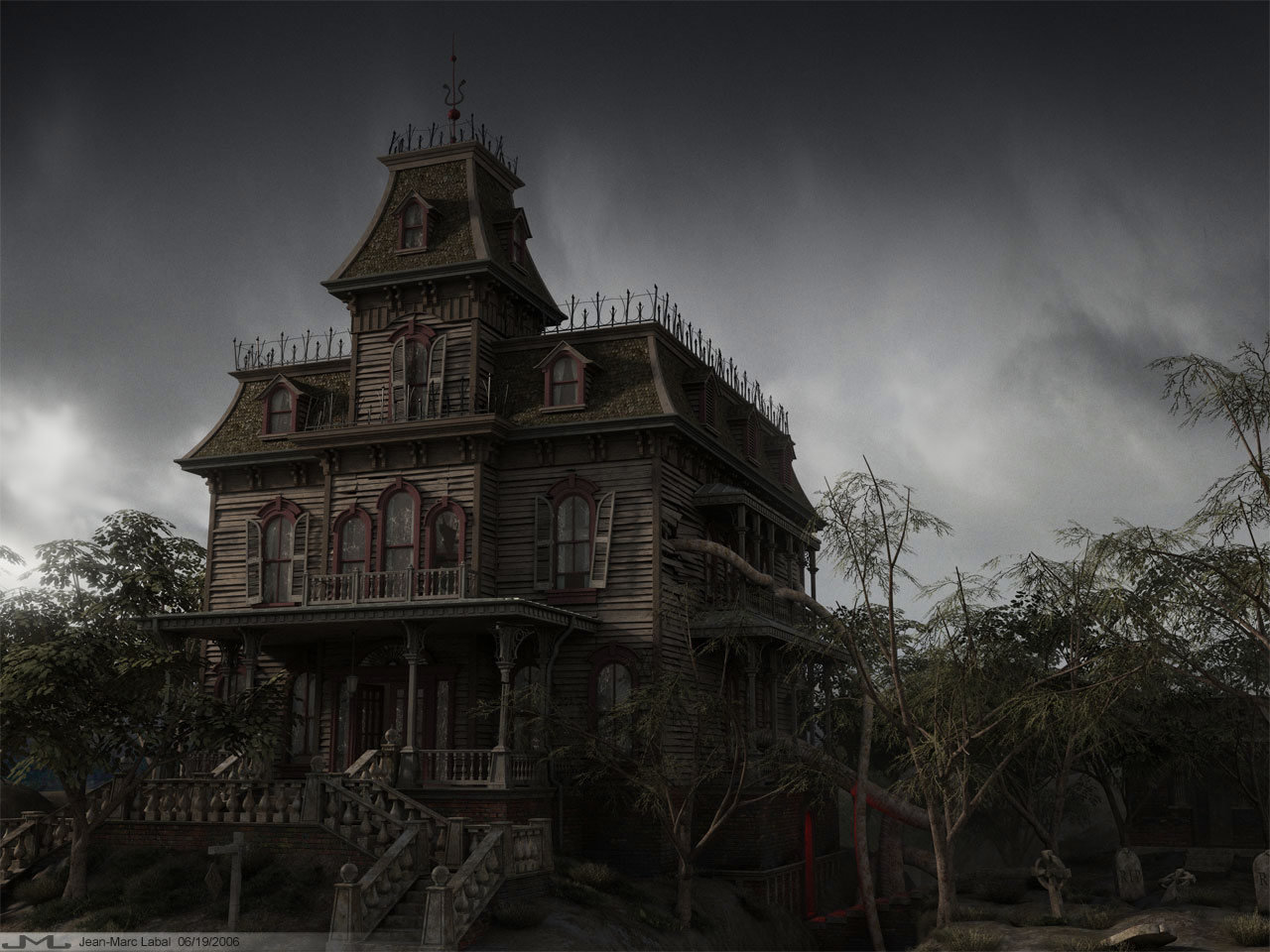 Best Haunted background ID:447035 for High Resolution hd 1280x960 desktop