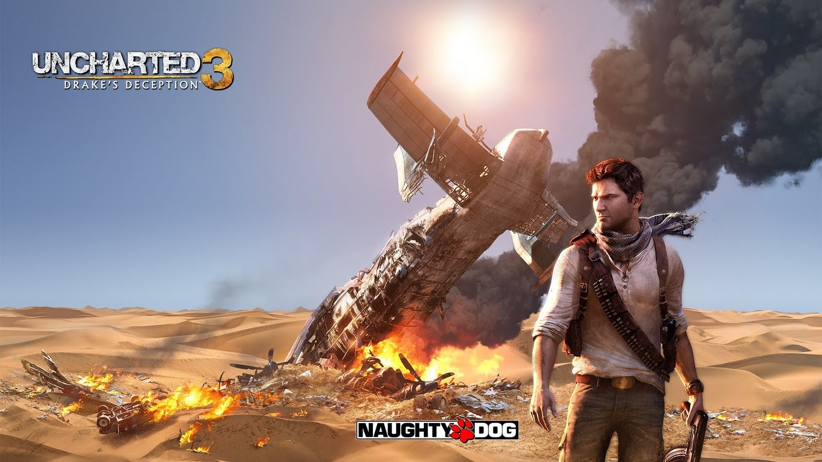 Download hd 1600x900 Uncharted 3: Drake's Deception PC wallpaper ID:497888 for free
