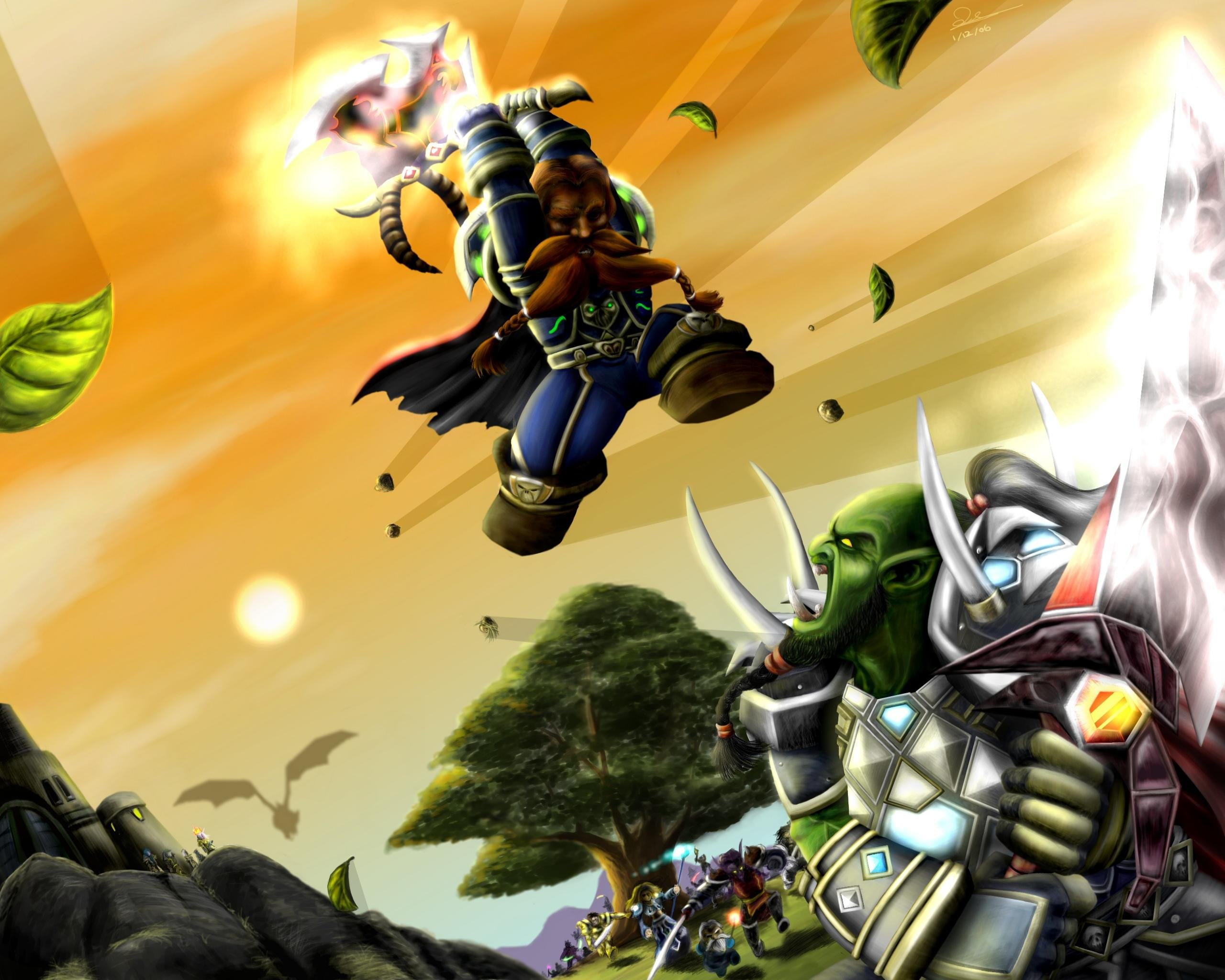 High resolution World Of Warcraft (WOW) hd 2560x2048 wallpaper ID:245702 for PC