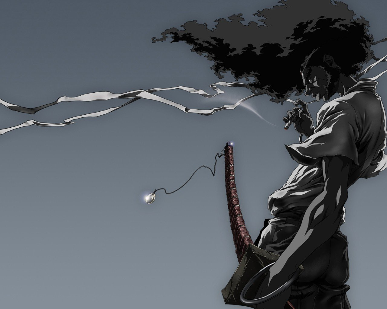 Awesome Afro Samurai free wallpaper ID:329152 for hd 1280x1024 desktop